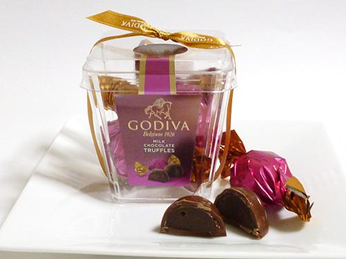 ゴディバ ラッピングチョコレート トリュフ ミルク