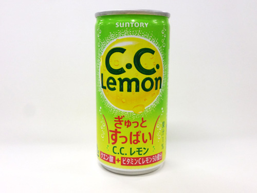 サントリーフーズ ぎゅっとすっぱいC.C.レモン