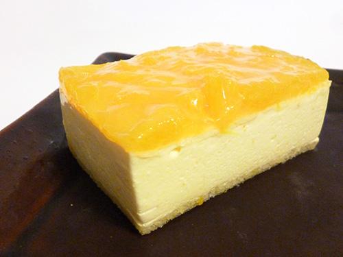 トップス オレンジチーズケーキ