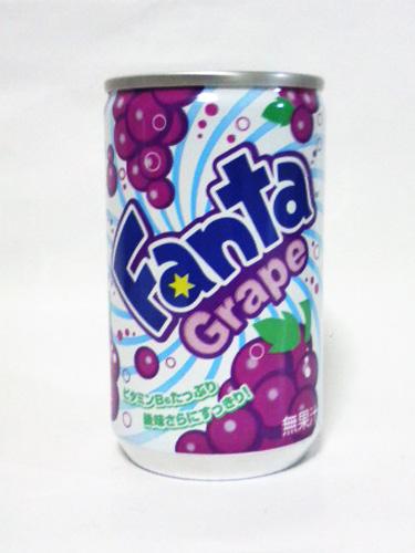 日本コカ・コーラ ファンタ グレープ