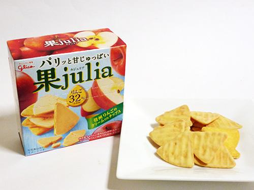 江崎グリコ 果julia りんご