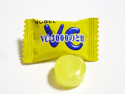 ノーベル製菓 VC-3000のど飴
