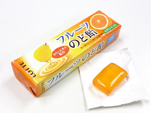 ロッテ フルーツのど飴